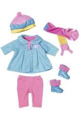 Baby Born Schnee Kleidung Bandai 823828