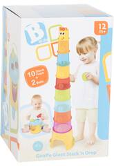 Cubes Empilables Girafe Kids 4702