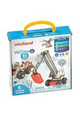 Activity Mecaniko 81 Piezas Mniland 32656