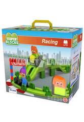 Super Blocks Racing 70 Pezzi Miniland 32345