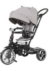 Triciclo Prime 4 en 1 Gris QPlay T551