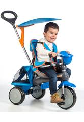 Triciclo Ranger 3 en 1 Azul QPlay T100