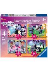 Vampirina Puzzle Progressif 4 en 1 Ravensburger 6973