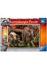 Jurassic World Puzze XXL 100 Pezzi Ravensburger 10915