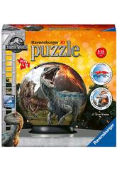 Jurassic World 3D Puzzleball 72 pezzi Ravensburger 11757