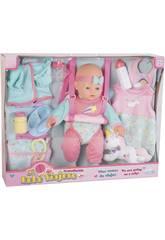 Bambola 40cm. con accessori da Viaggio