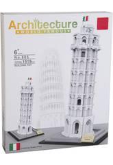 Blocs De Constructions Tour de Pisa 1519 Pièces