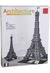 Bloques de Construcción Torre Eiffel 1777 Piezas