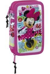 Astuccio Doble Piccolo 28 pezzi Minnie Mouse Cool Safta 411848854