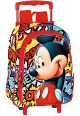 Sac à Dos avec roues enfants Mickey OK Perona 55657