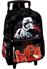 Mochila Infantil con Carro Star Wars The Last Jedi Perona 55575