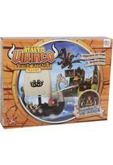 Assaut Viking Playset avec Bateau ,île et figurines