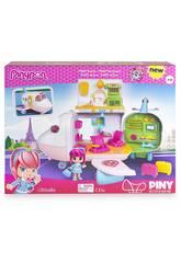 Pinypon Set di Bambole e Accessori Aereo Famosa 700014622