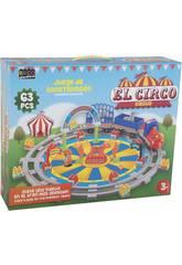 Jeu de Construction Le Cirque 63 pièces