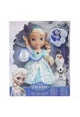 Frozen Elsa Vestido Luminoso 33 cm. Glop Games 31058