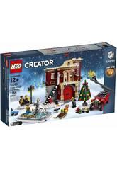 Lego Creator Caserne de Pompiers de Noël 10263