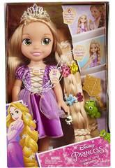 Rapunzel Muñeca 35 cm. Brillo y Estilo Glop Games 71613