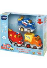 Tut Tut Bolidos Fahrzeuge Press & Go Set Von 3 Fahrzeugen Vtech 249967