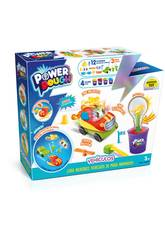 Power Dough Kit Vehículos Grande Canal Toys DP017