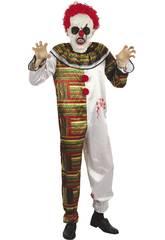 Déguisement Adulte Homme Clown Horripilant Taille L