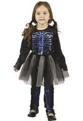 Disfraz Bebé Esqueleta Rayos X Talla M