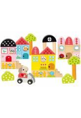 Pack 40 Peças Arquiteturas Coelhinho Diset 50201