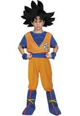 Costume Ragazzo XXL Dragon Ball Super Yo Quiero Ser Goku