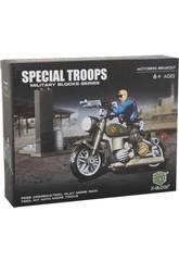 Truppe Speciali Moto Ccon accessori Blocchi 75 pezzi
