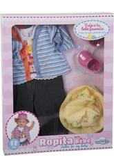 Set Puppenkleidung 43-46 cm. 6 Stück Super Bär