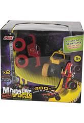 Monster Truck Akrobatische Fahrzeuge mit Rampe
