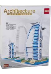 Bloques de Construcción Burj Al Arab Hotel 2342 Piezas