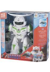 Smart Robot mit Lichter und Klänge