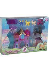 Château Magique des Licornes avec des Accessoires
