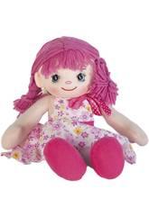 Muñeca Trapo Rosa 35 cm.