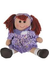 Bambola di Pezza Vestito lilla 50 cm