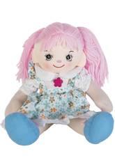 Bambola di Pezza Vestito Blu 50 cm