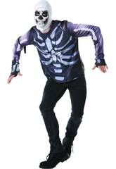 Maglietta Skull Trooper Fortnite XL