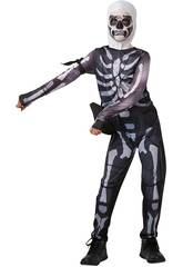 Disfraz Niño Skull Trooper Fortnite Talla Teen
