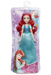 Muñeca Princesas Disney Ariel Brillo Real Hasbro E4156EU40