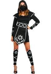 Kostüm Ninja Frau Größe S