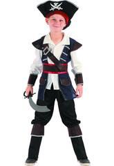 Déguisement Pirate Garçon Taille S