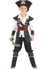 Disfraz Pirata Niño Talla L
