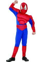 Déguisement Héros Araignée Musclé Enfant Taille XL