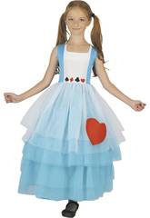 Kostüm Alice Mädchen Größe L