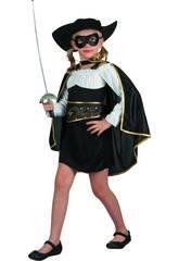 Disfraz Bandida Niña Talla M