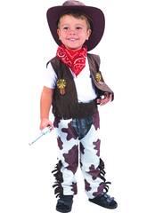Disfarce Cowboy Bebé Tamanho M