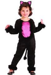 Costume Gattina Bebè S