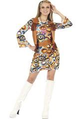 Déguisement Hippie Femme Taille L