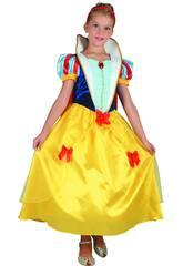 Disfraz Princesa de las Nieves Niña Talla L