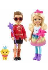 Barbie Dreamtopia Pack Chelsea y Otto Mattel FRB14